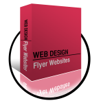Websites and print website design - flyer websites