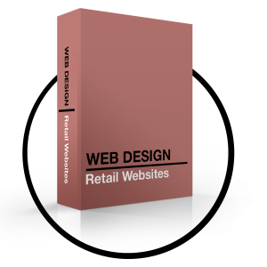 Websites and print website design - retail websites