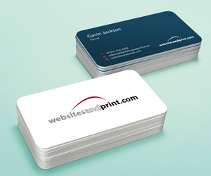 Small websites and print business cards